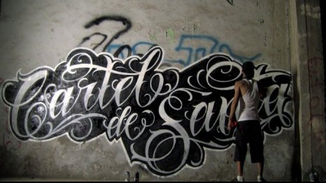 Graffiti Buster Cartel de santa
