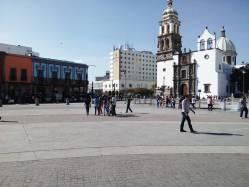 El centro de la ciudad de irapuato guanajuato